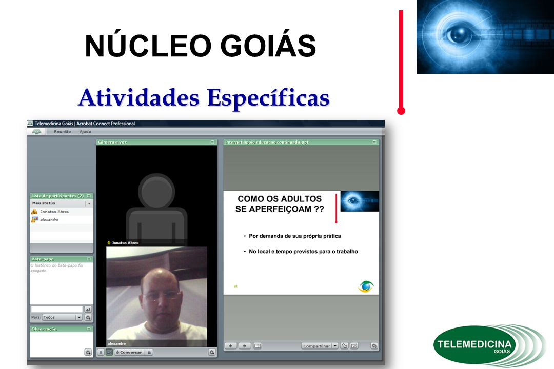 at NÚCLEO GOIÁS Atividades Específicas