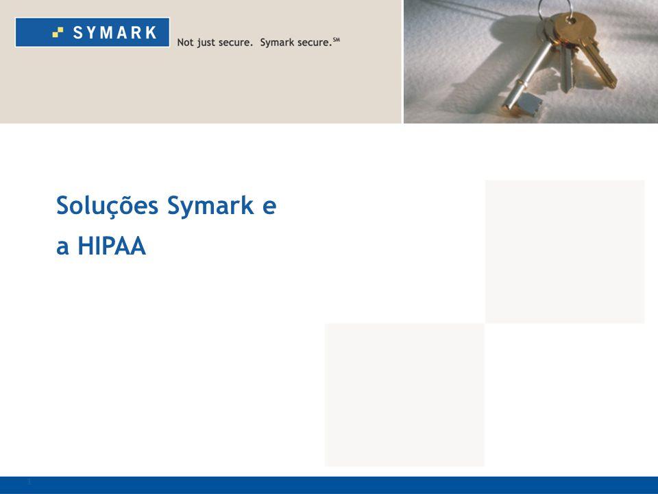 1 Soluções Symark e a HIPAA