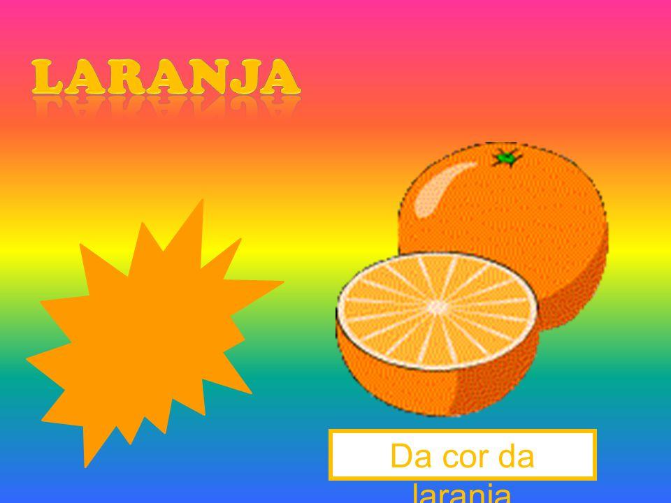 Da cor da laranja
