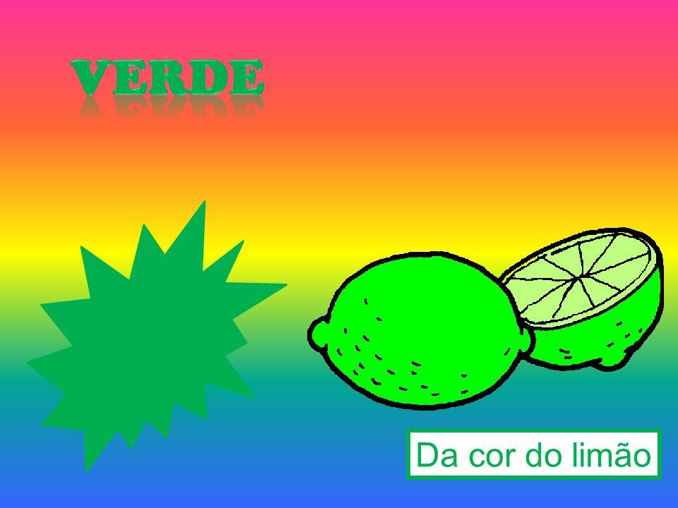 Da cor do limão