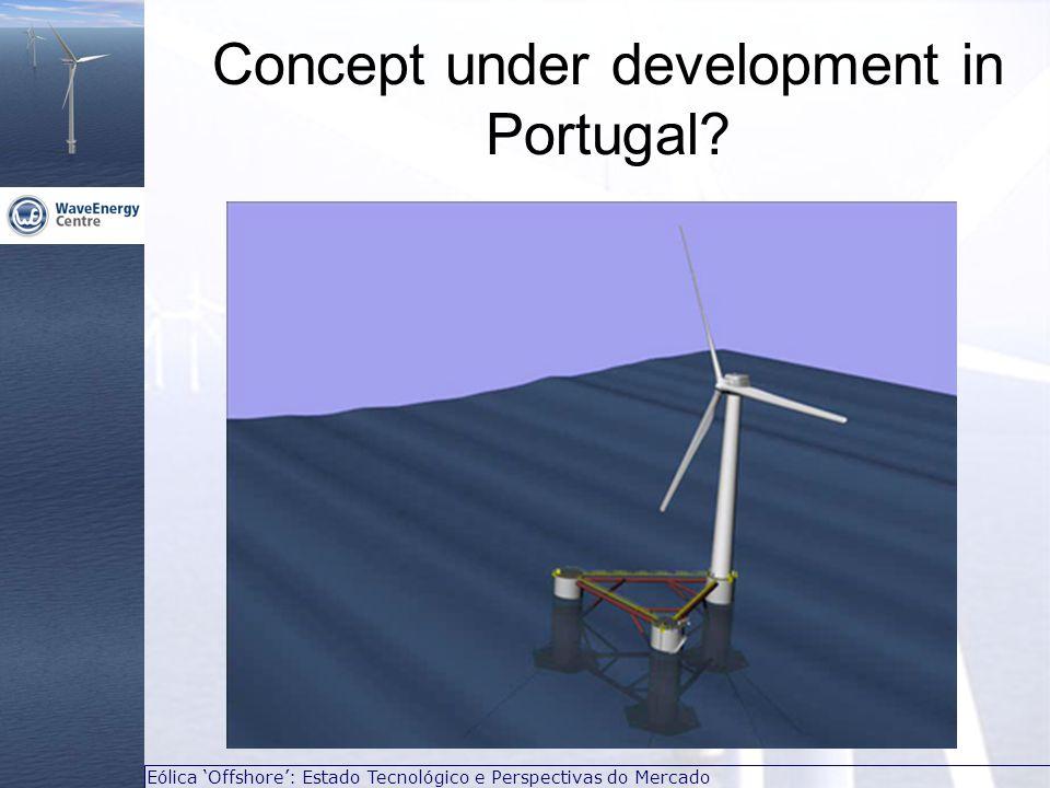 Eólica 'Offshore': Estado Tecnológico e Perspectivas do Mercado Concept under development in Portugal?