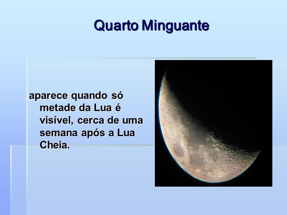 Lua Cheia parece perfeitamente redonda porque podemos ver um lado inteiro dela, iluminado pela luz solar.