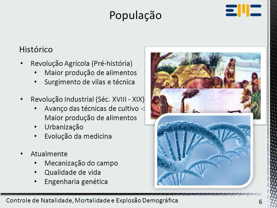 Controle de Natalidade, Mortalidade e Explosão Demográfica 27 http://www.nytimes.com/2012/04/19/opinion/mind-the-baby- gap.html?_r=0 http://noticias.terra.com.br/brasil/ibge-fecundidade-no-brasil- nao-supera-reposicao- populacional,16cbdc840f0da310VgnCLD200000bbcceb0aRCRD.