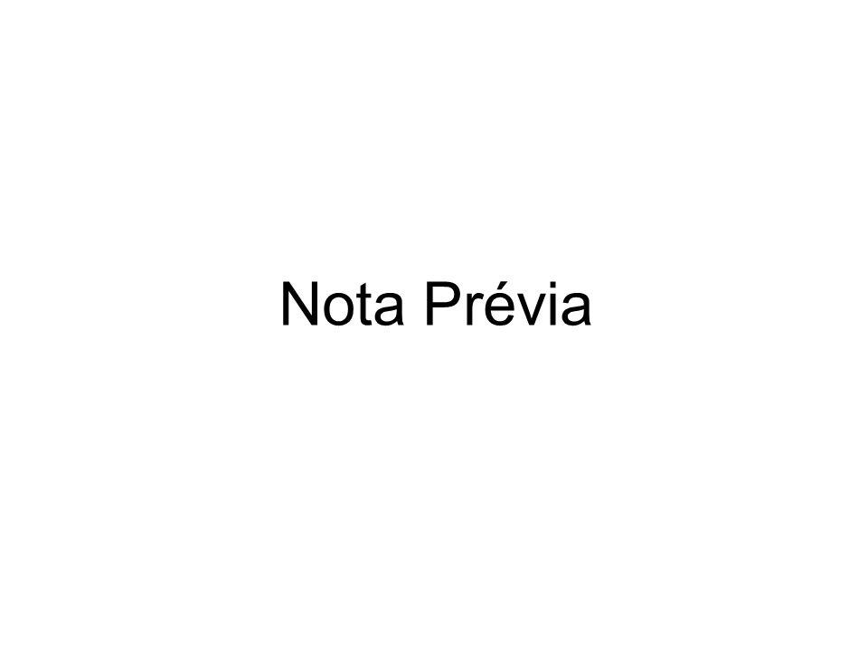 Nota Prévia
