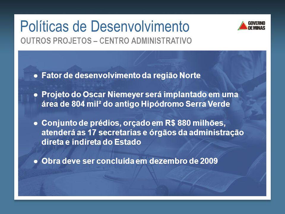 ●Fator de desenvolvimento da região Norte ●Projeto do Oscar Niemeyer será implantado em uma área de 804 mil² do antigo Hipódromo Serra Verde ●Conjunto