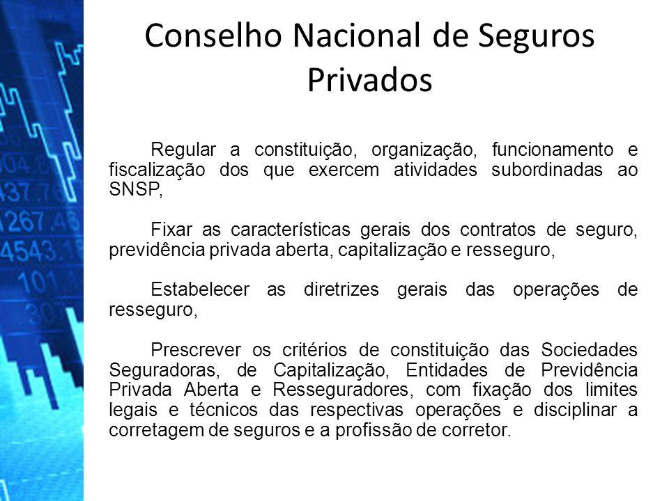 Regular a constituição, organização, funcionamento e fiscalização dos que exercem atividades subordinadas ao SNSP, Fixar as características gerais dos