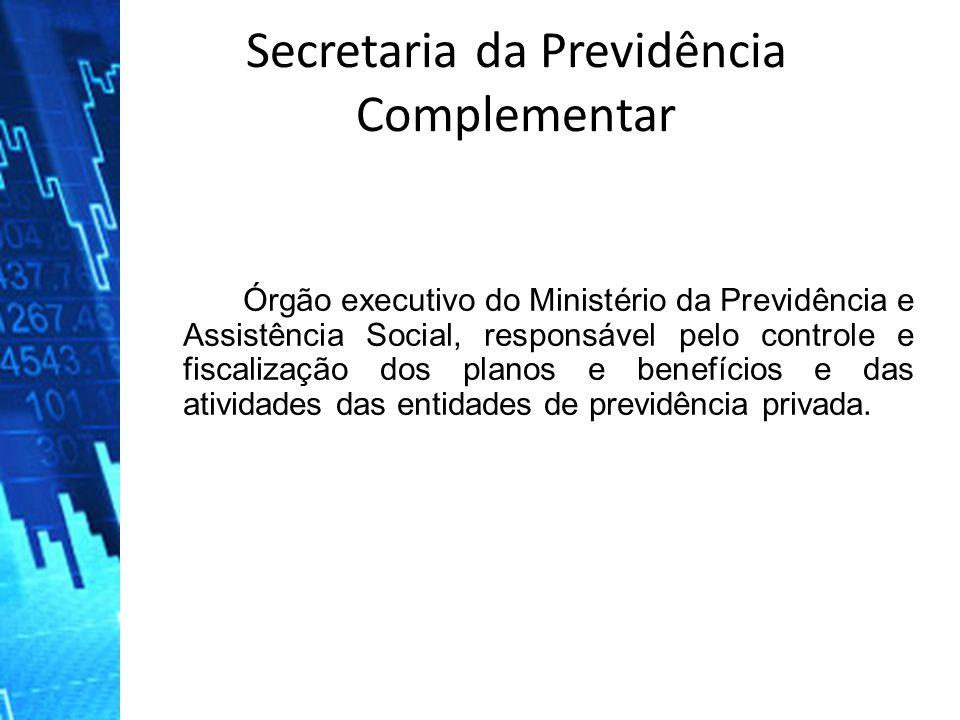 Órgão executivo do Ministério da Previdência e Assistência Social, responsável pelo controle e fiscalização dos planos e benefícios e das atividades d