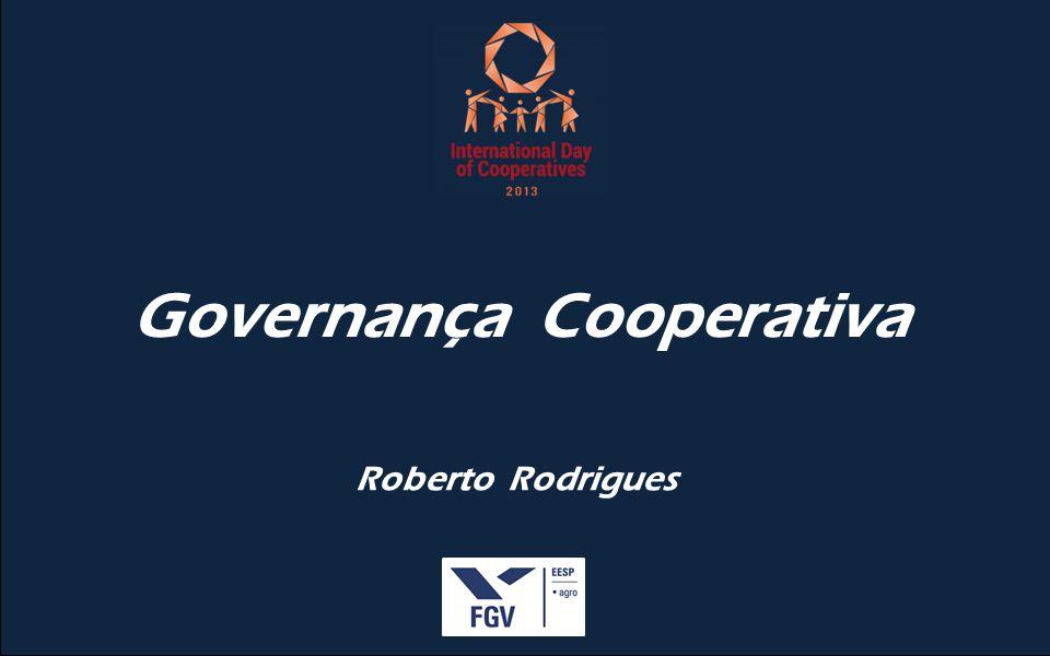 Roberto Rodrigues Governança Cooperativa
