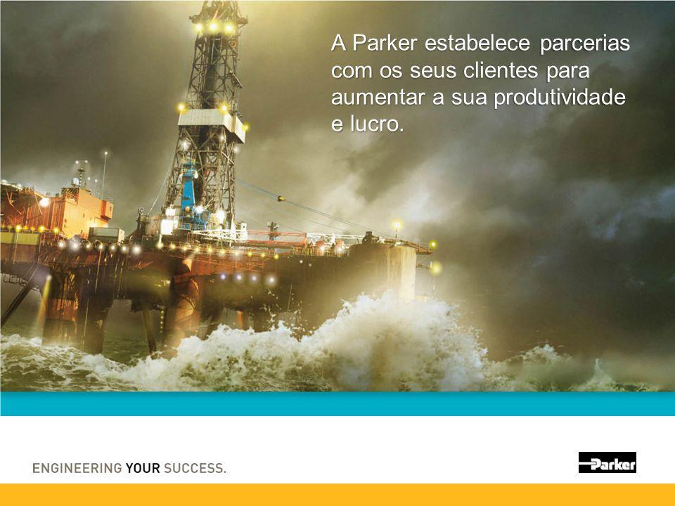 A Parker estabelece parcerias com os seus clientes para aumentar a sua produtividade e lucro.
