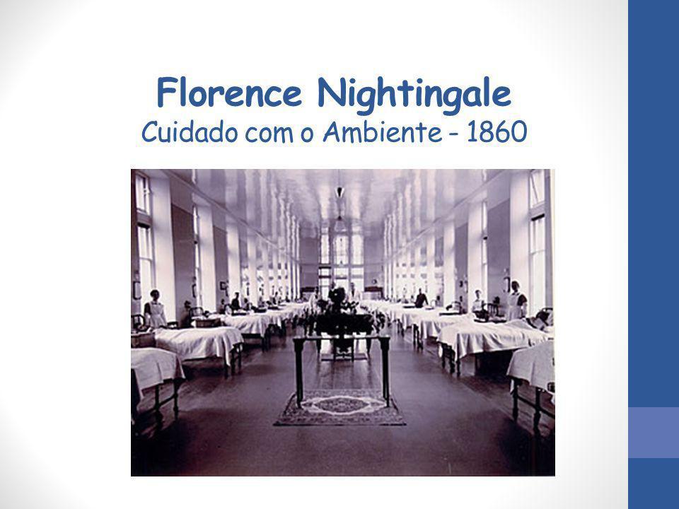Florence Nightingale Cuidado com o Ambiente - 1860