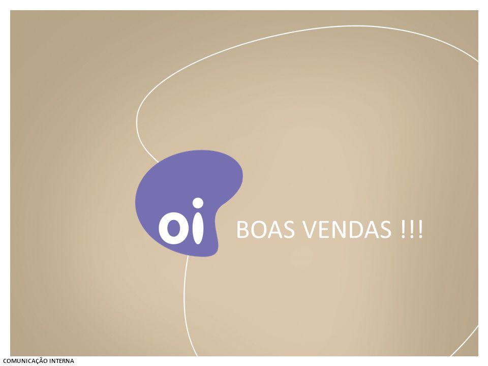 BOAS VENDAS !!! COMUNICAÇÃO INTERNA