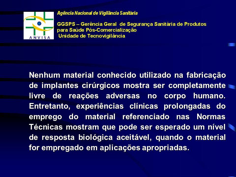 NORMAS E LEGISLAÇÕES SOBRE IMPLANTES ORTOPÉDICOS Dra. Valéria Figueiredo Felisbino Barbosa