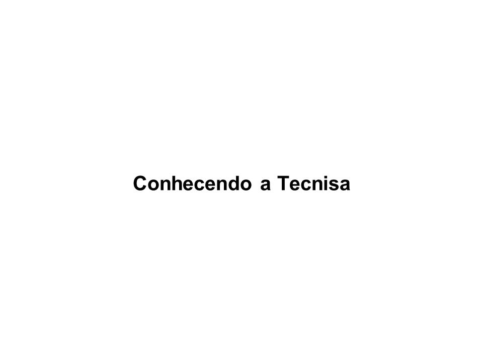 Conhecendo a Tecnisa