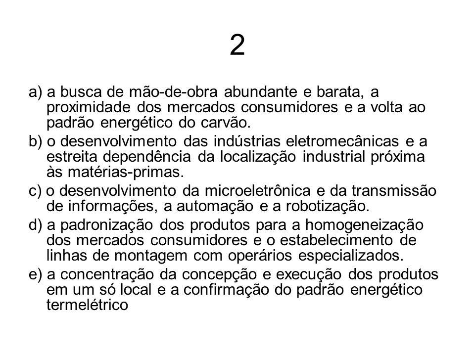 3 (UFPI) Com relação a algumas características socioeconômicas dos países subdesenvolvidos, assinale a alternativa correta.