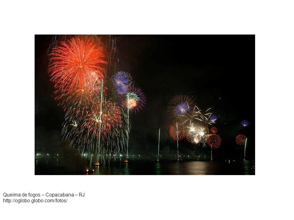 Queima de fogos – Copacabana – RJ http://oglobo.globo.com/fotos/