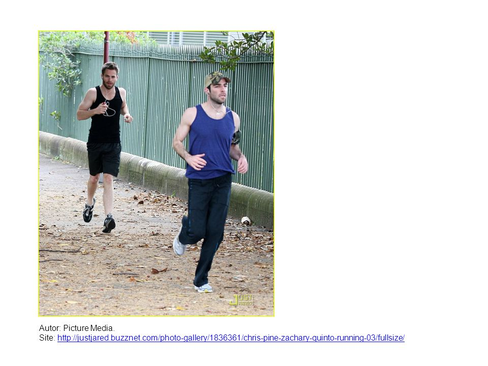 Autor: Picture Media. Site: http://justjared.buzznet.com/photo-gallery/1836361/chris-pine-zachary-quinto-running-03/fullsize/http://justjared.buzznet.