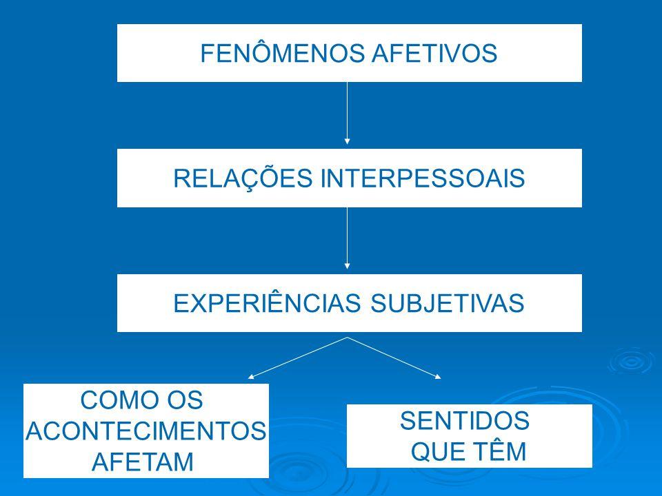Delimitando o campo teórico DEFININDO AFETIVIDADE WALLON CAPACIDADE DE SER AFETADO MANIFESTAÇÃO DE ESTADOS SUBJETIVOS