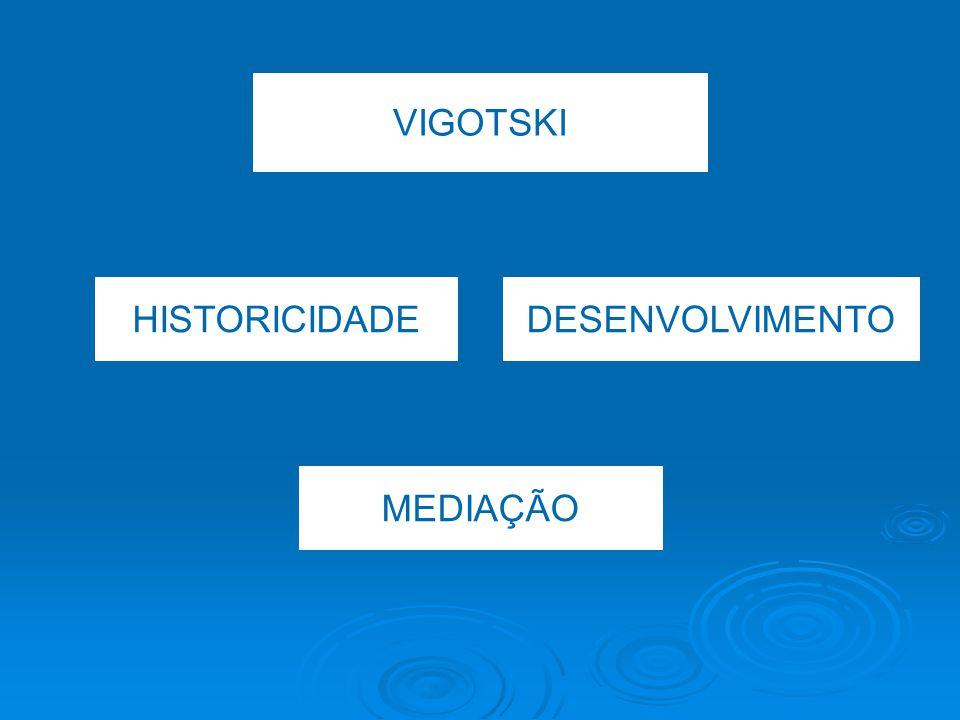VIGOTSKI HISTORICIDADEDESENVOLVIMENTO MEDIAÇÃO