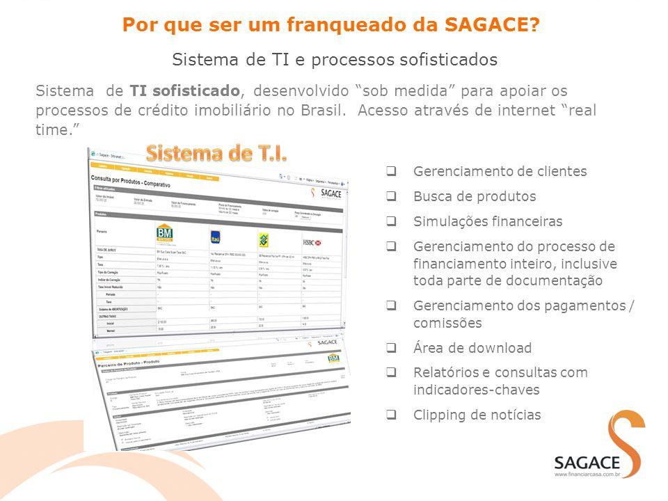 """Sistema de TI sofisticado, desenvolvido """"sob medida"""" para apoiar os processos de crédito imobiliário no Brasil. Acesso através de internet """"real time."""