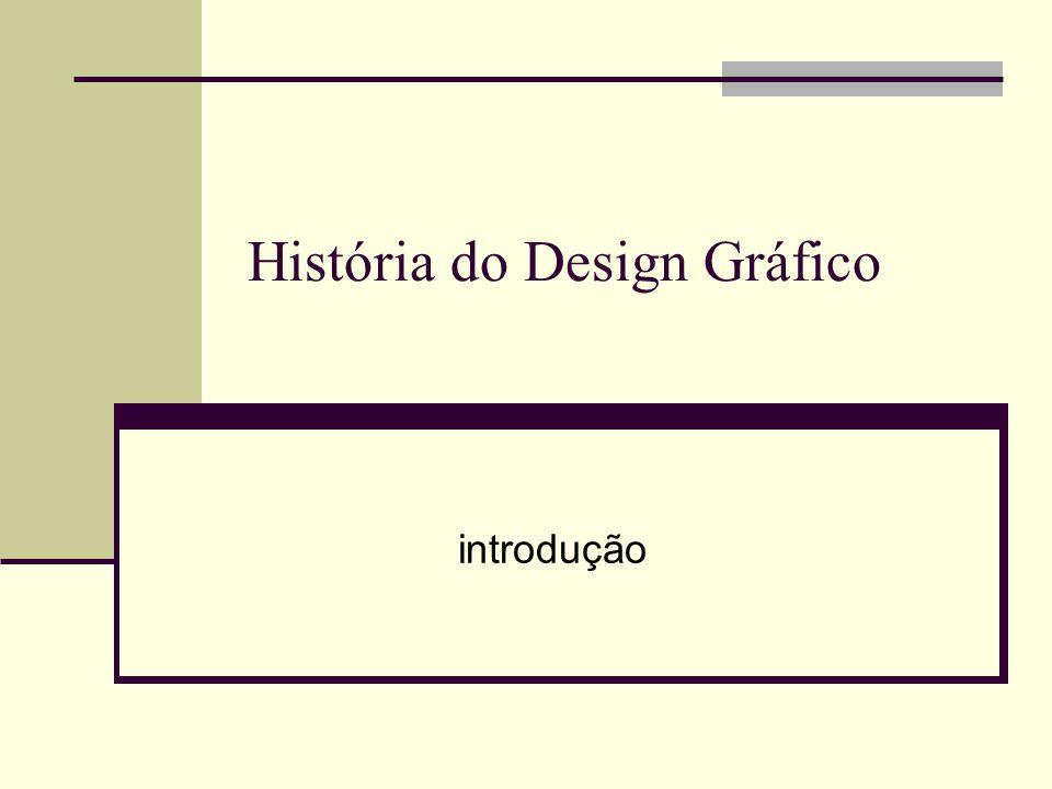 História do Design Gráfico introdução