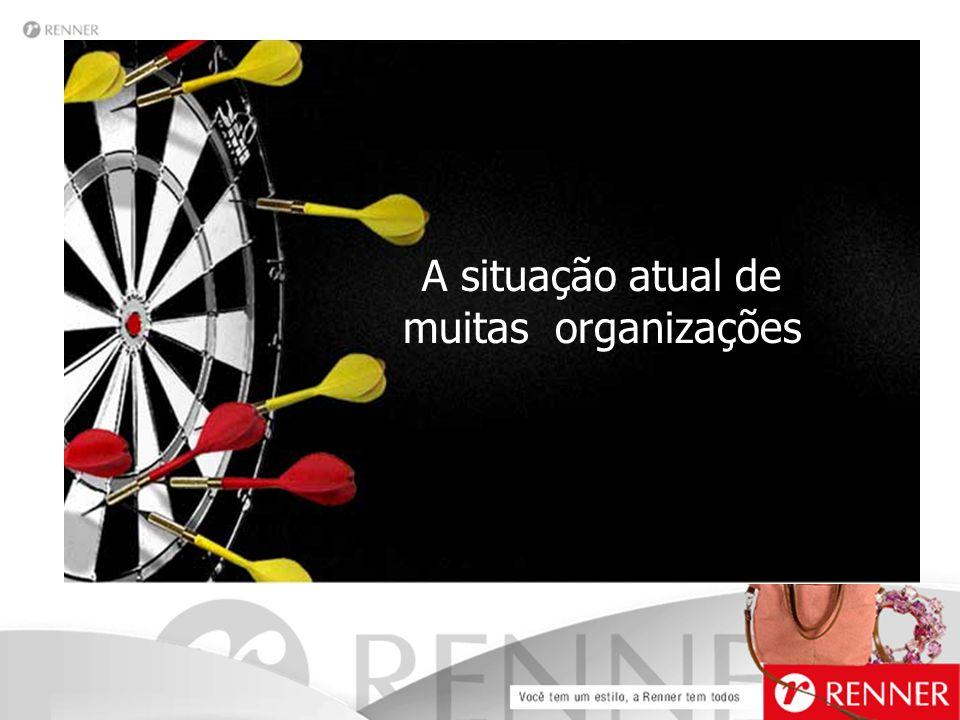 A situação atual de muitas organizações