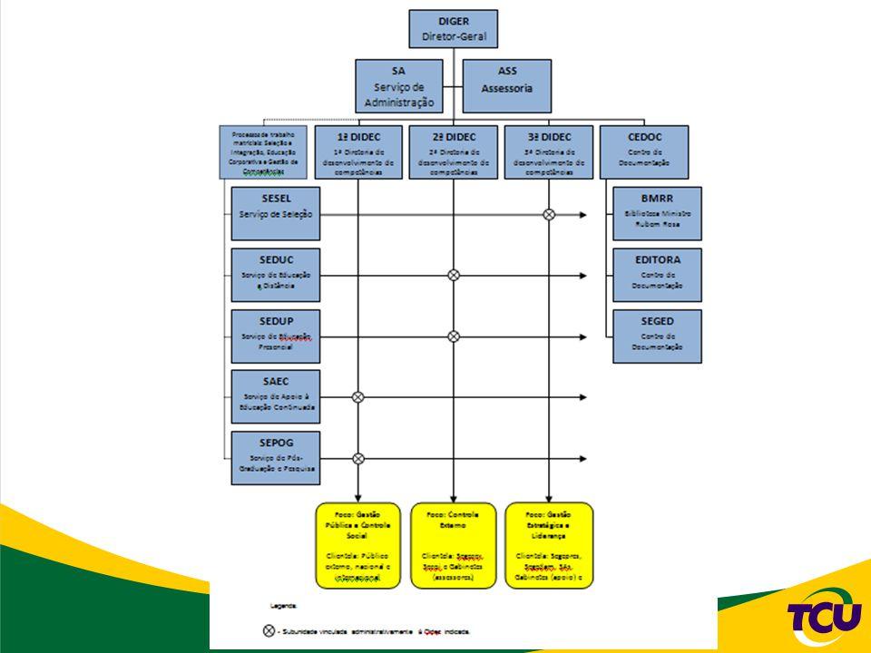 Ciclo de treinamento e desenvolvimento diagnóstico de necessidades de desenvolvimento planejamento de ações educacionais execução de ações educacionais avaliação dos resultados das ações O Instituto Serzedello Corrêa