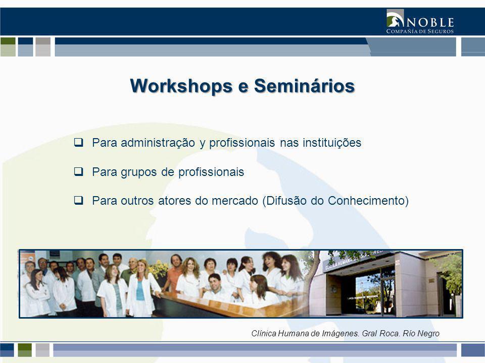 Workshops e Seminários Clínica Humana de Imágenes.