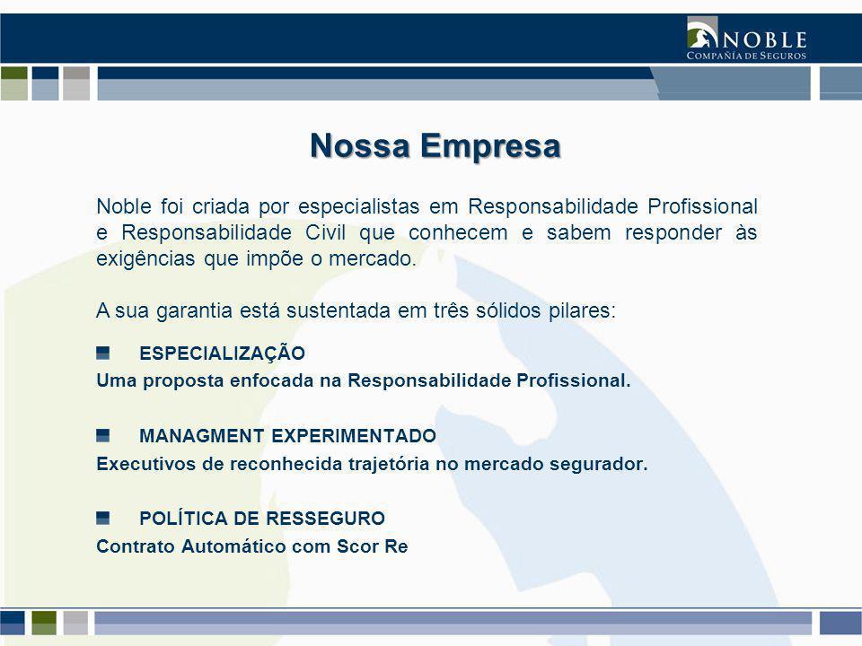 ESPECIALIZAÇÃO Uma proposta enfocada na Responsabilidade Profissional.