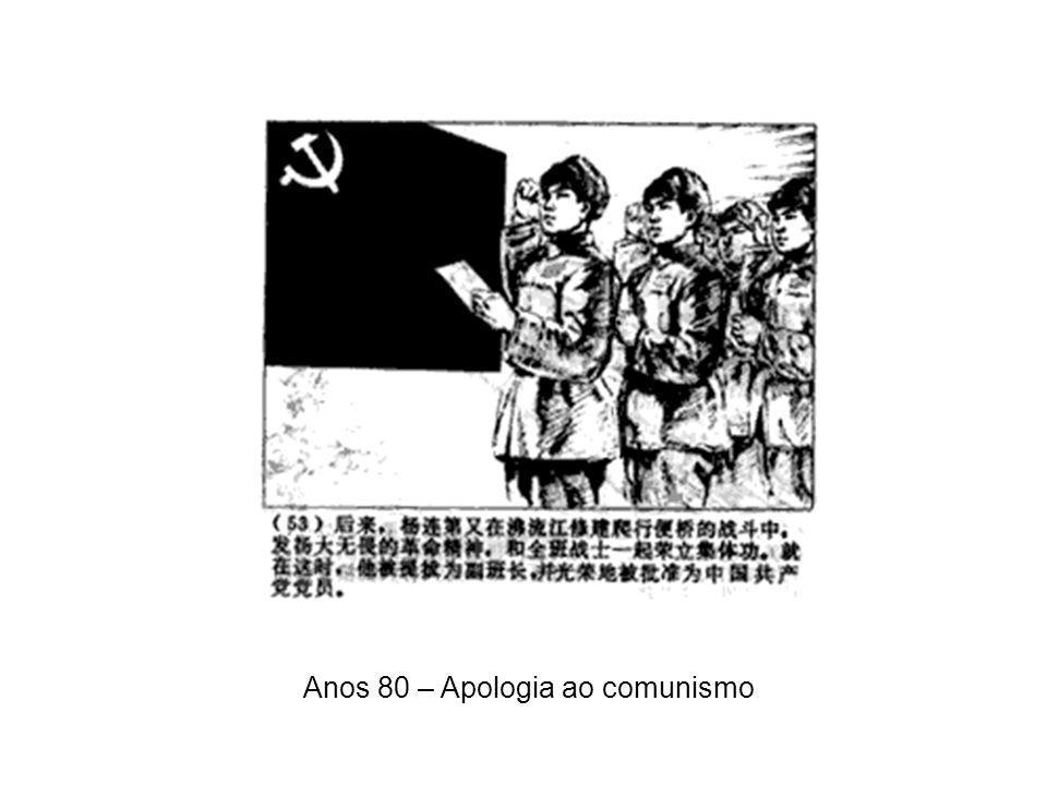 """Outros países também aprenderam a usar os quadrinhos como ferramenta de comunicação político ideológica 1949 – """"Os quadrinhos de Mao"""" – formação da Re"""