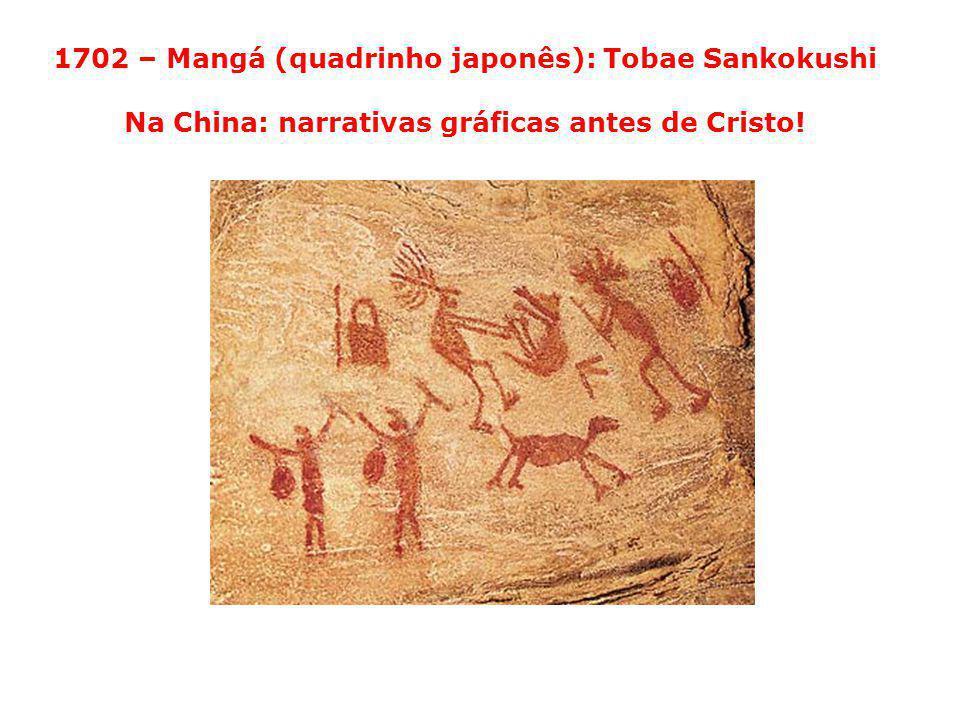 1702 – Mangá (quadrinho japonês): Tobae Sankokushi Na China: narrativas gráficas antes de Cristo!