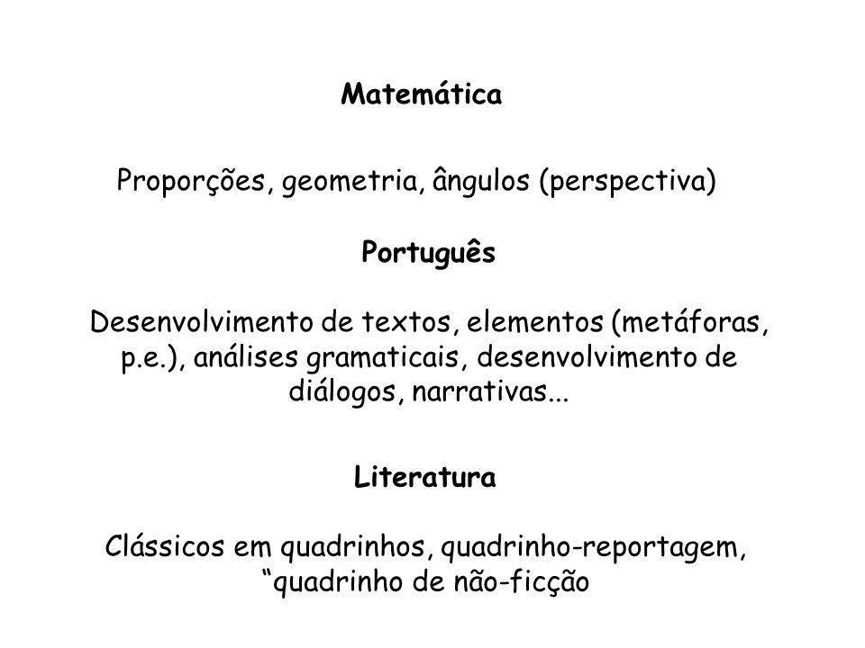 Como usar? - Ferramenta paradidática: material de apoio nas disciplinas. - Produzindo os próprios quadrinhos: como atividade multidisciplinar.