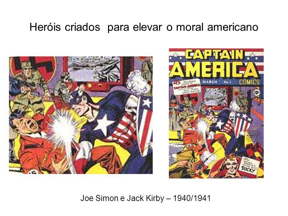 1938 – É um trabalho para o Super-Homem Com o Homem-de-Aço, surgem os super-heróis Grande influência entre o público infanto-juvenil