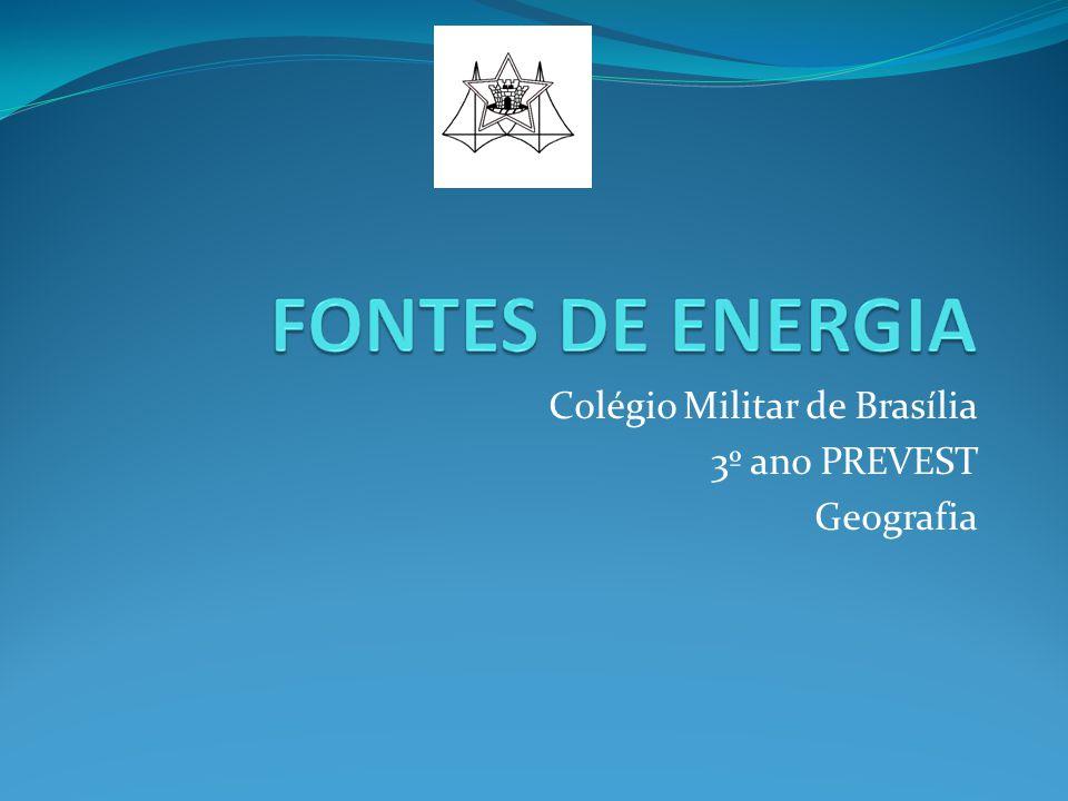 Colégio Militar de Brasília 3º ano PREVEST Geografia
