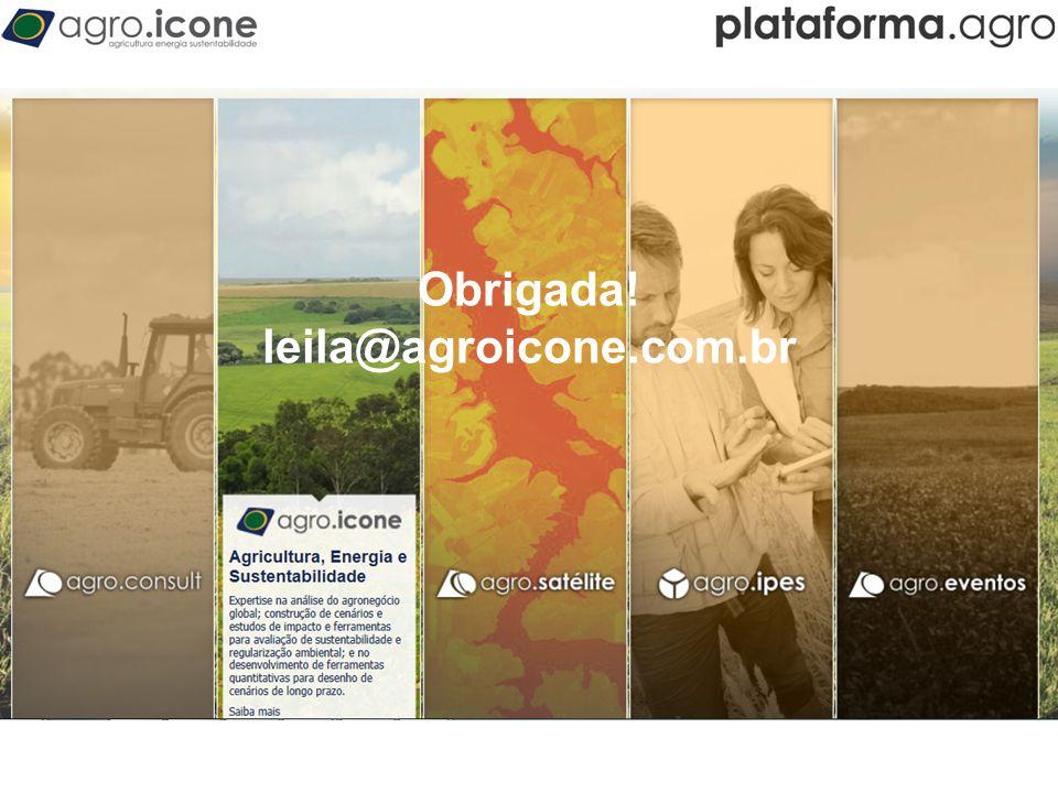 T Obrigada! leila@agroicone.com.br