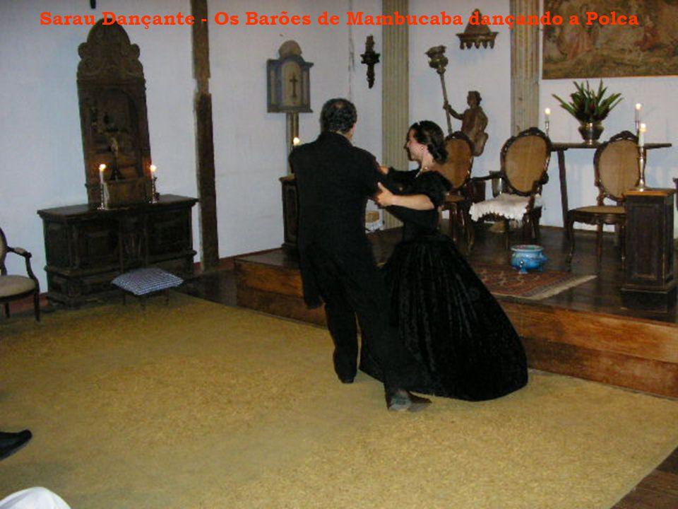 Sarau Dançante - Os Barões de Mambucaba dançando a Polca