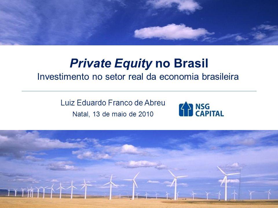22 O mercado de Private Equity e Venture Capital no Brasil Distribuição do Capital Comprometido por Tipo de Investidor, em 2009 Fonte: FGV/GVcepe Luiz Eduardo Franco de Abreu