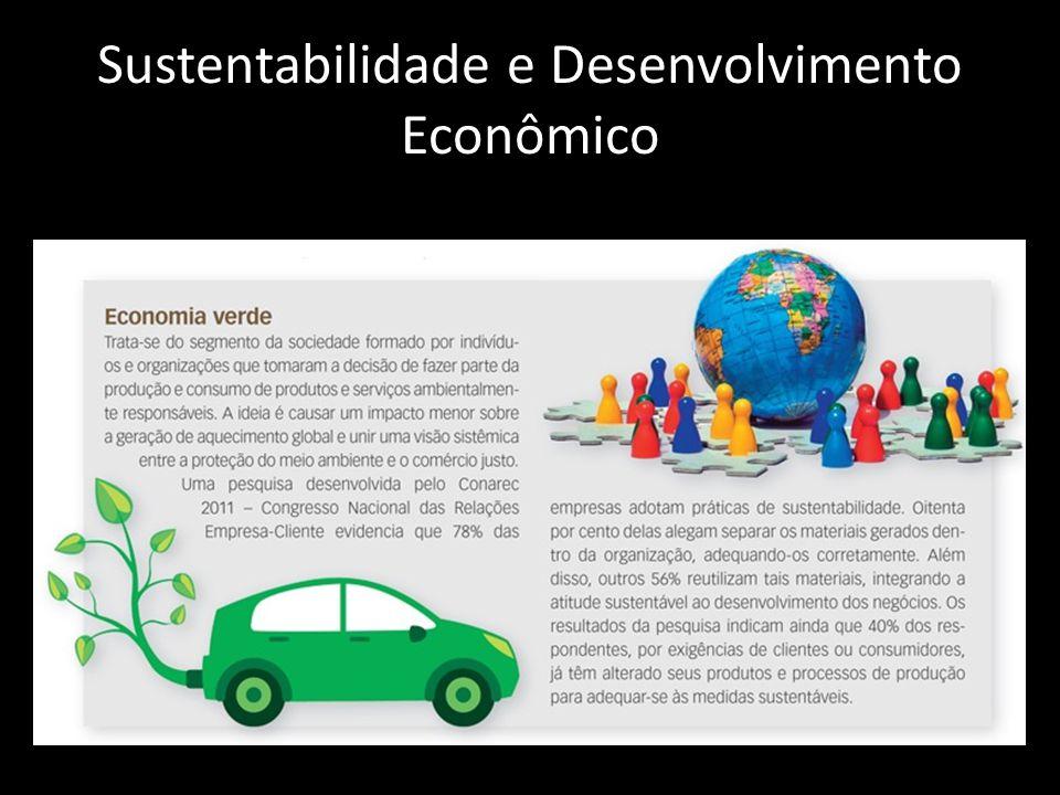 Sustentabilidade e Desenvolvimento Econômico