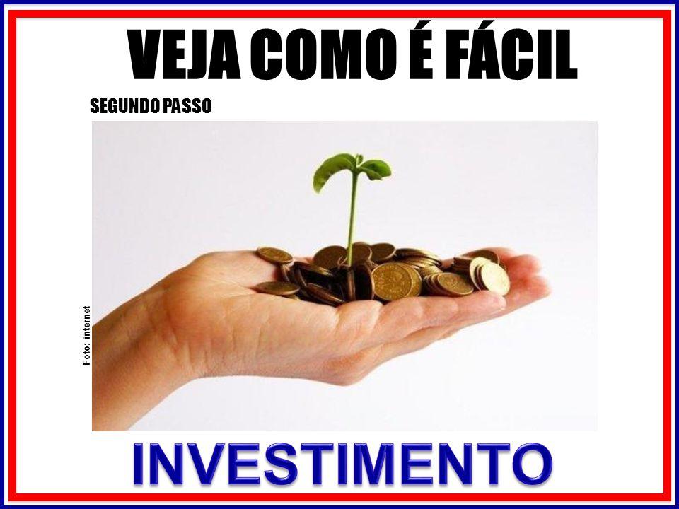 VEJA COMO É FÁCIL SEGUNDO PASSO Foto: internet