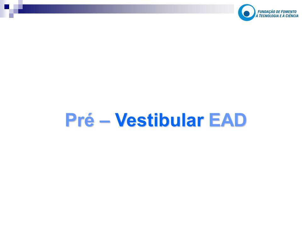 Pré – Vestibular EAD