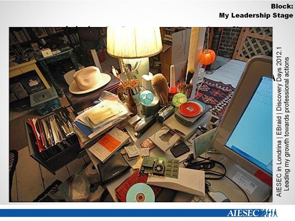 Módulo 2- Pausa e Oranização Desorganização: A pior coisa para perdermos tempo é a confusão de papéis sobre a mesa. A desordem prejudica a concentraçã