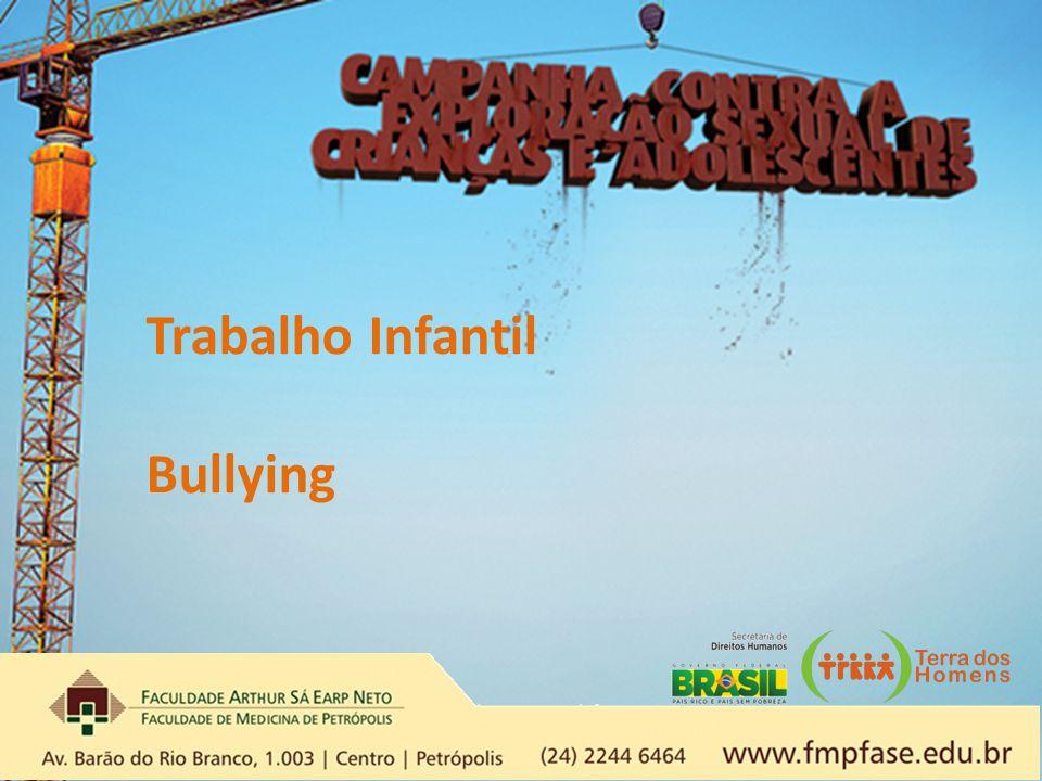 Trabalho Infantil Bullying