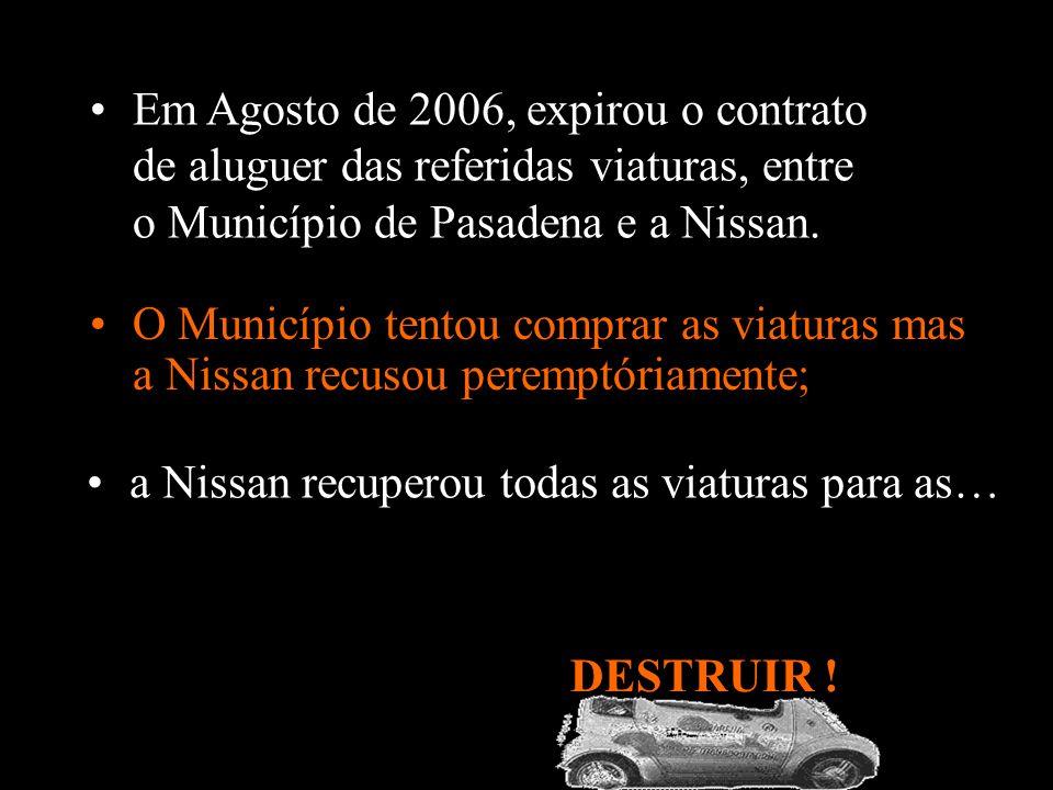 Em 1997, a Nissan apresentou o modelo eléctrico Hypermini no salão de Tokyo. O Município da cidade de Pasadena (Califórnia - EUA) adoptou esta viatura