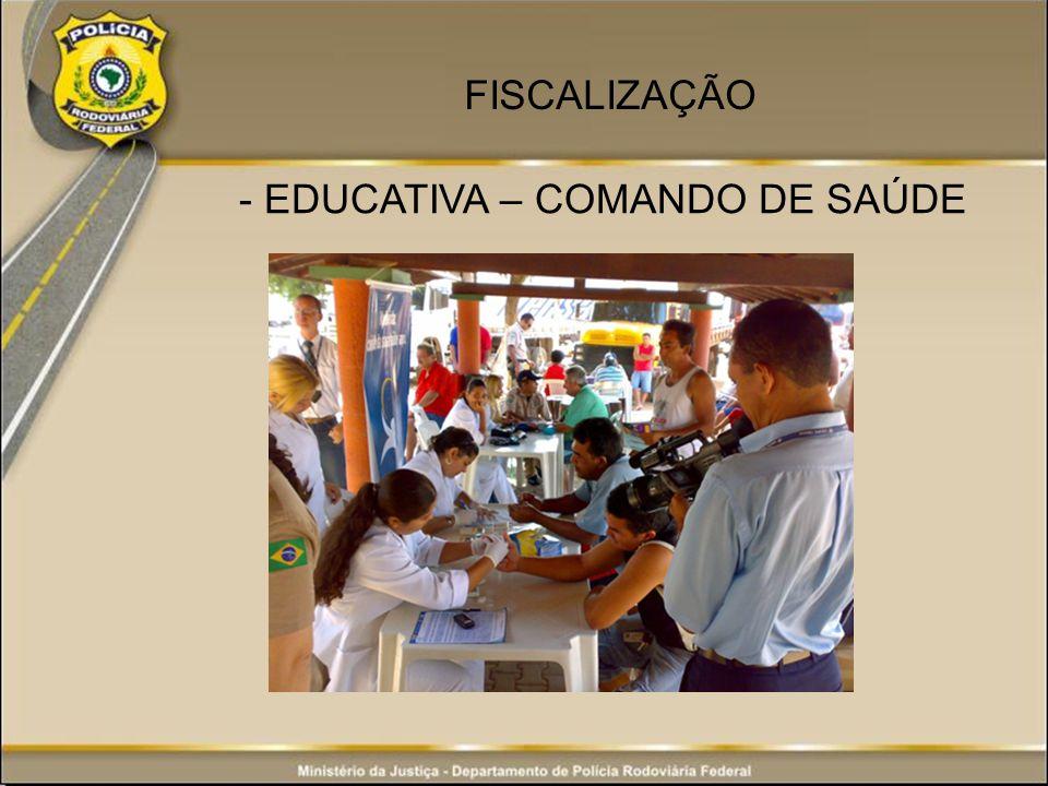 - EDUCATIVA – COMANDO DE SAÚDE FISCALIZAÇÃO