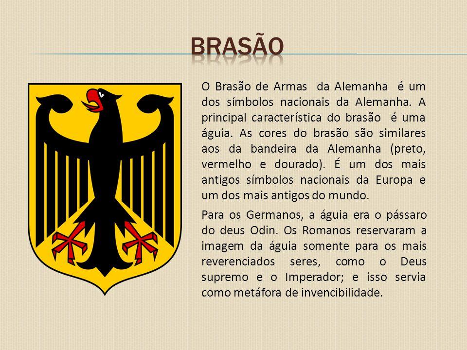O Brasão de Armas da Alemanha é um dos símbolos nacionais da Alemanha. A principal característica do brasão é uma águia. As cores do brasão são simila