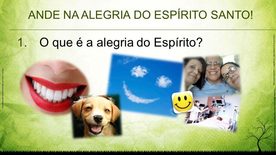 ANDE NA ALEGRIA DO ESPÍRITO SANTO! 1.O que é a alegria do Espírito? http://media.salon.com/2012/07/happy_conservatives_rect1.jpg http://static.oprah.c