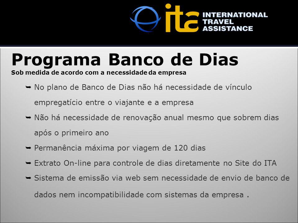 Programa Banco de Dias Sob medida de acordo com a necessidade da empresa  No plano de Banco de Dias não há necessidade de vínculo empregatício entre