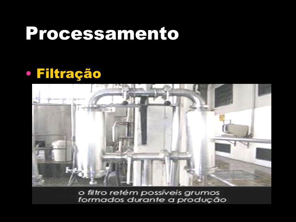 Processamento Filtração