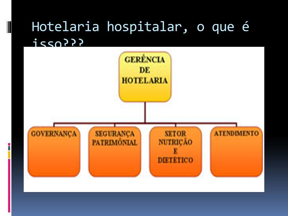 Hotelaria hospitalar, o que é isso???