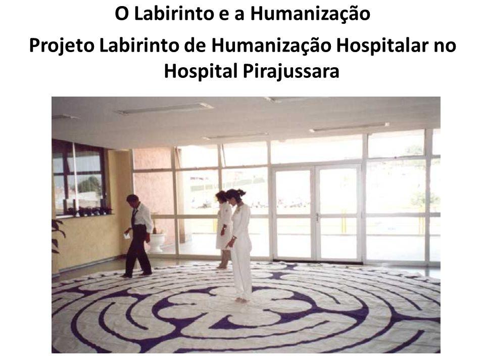 O Labirinto e a Humanização Projeto Labirinto de Humanização Hospitalar no Hospital Pirajussara