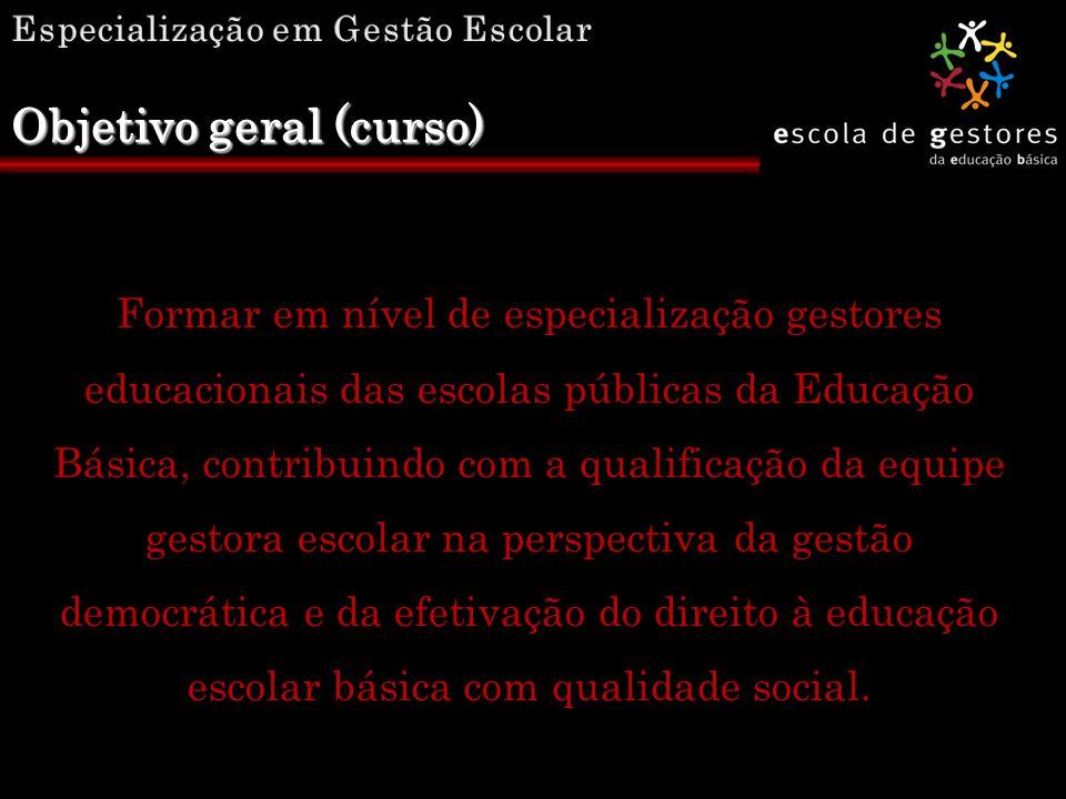  O direito à educação e a função social da escola básica  Políticas de educação e a gestão democrática da escola  Projeto Político Pedagógico e práticas democráticas na Gestão Escolar Eixos norteadores